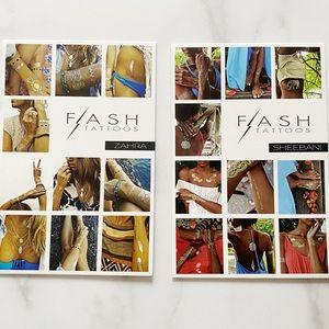 Flash Tattoos Set of 2 Packs